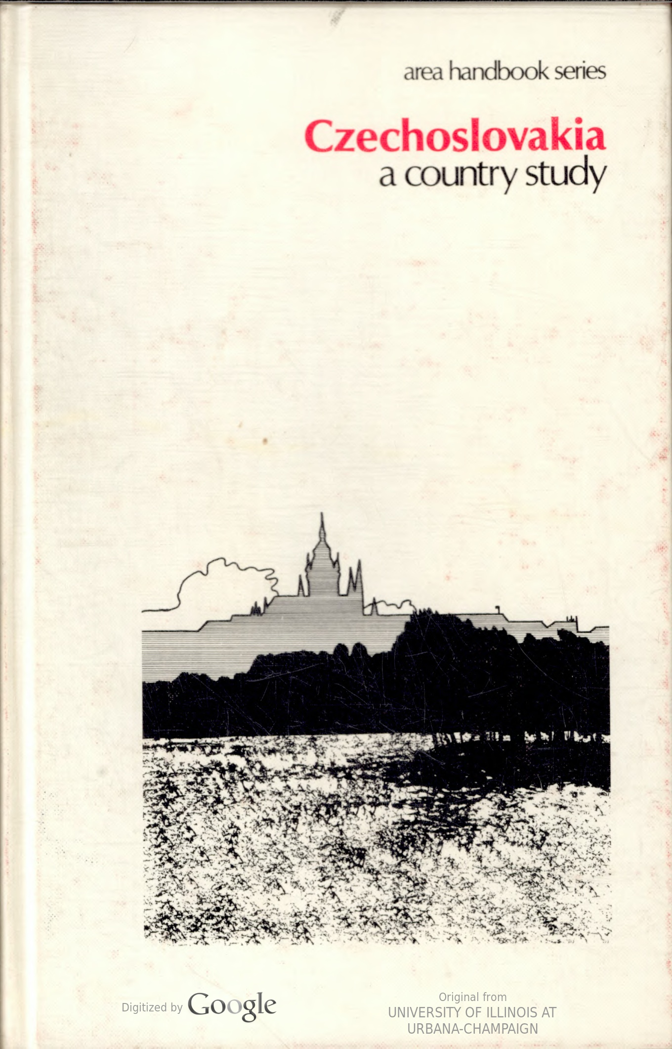 Cover Art for Czechoslovakia: a country study