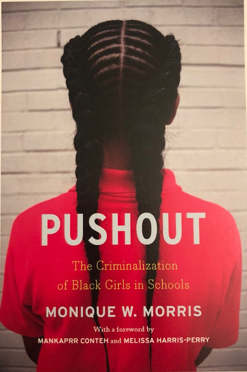 Book Cover Image of Pushout by Monique Morris