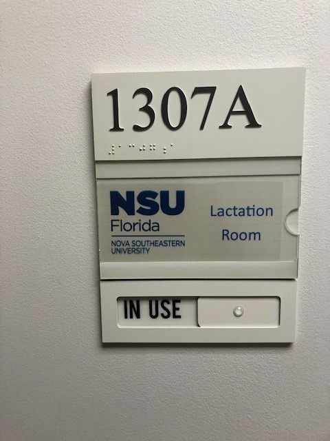 Room 1307 Sign