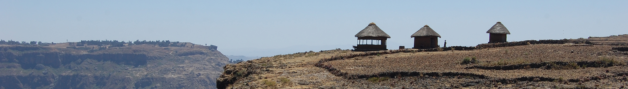 Houses on an Ethiopian Mountain
