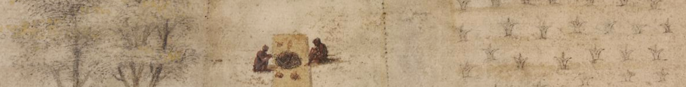 detail from Secoton, John White