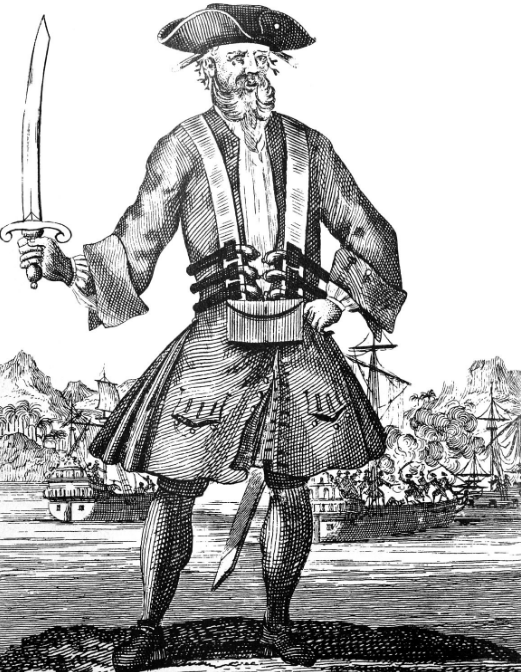 17th c pirate print