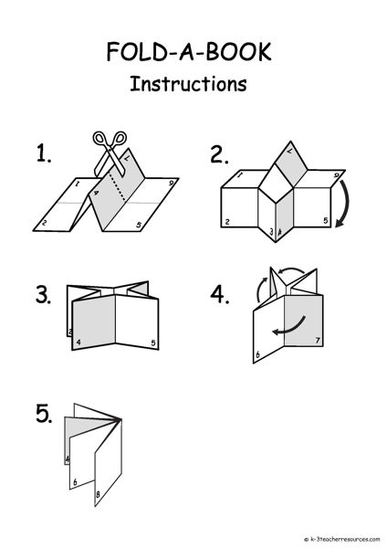 Fold-a-Book Instructions