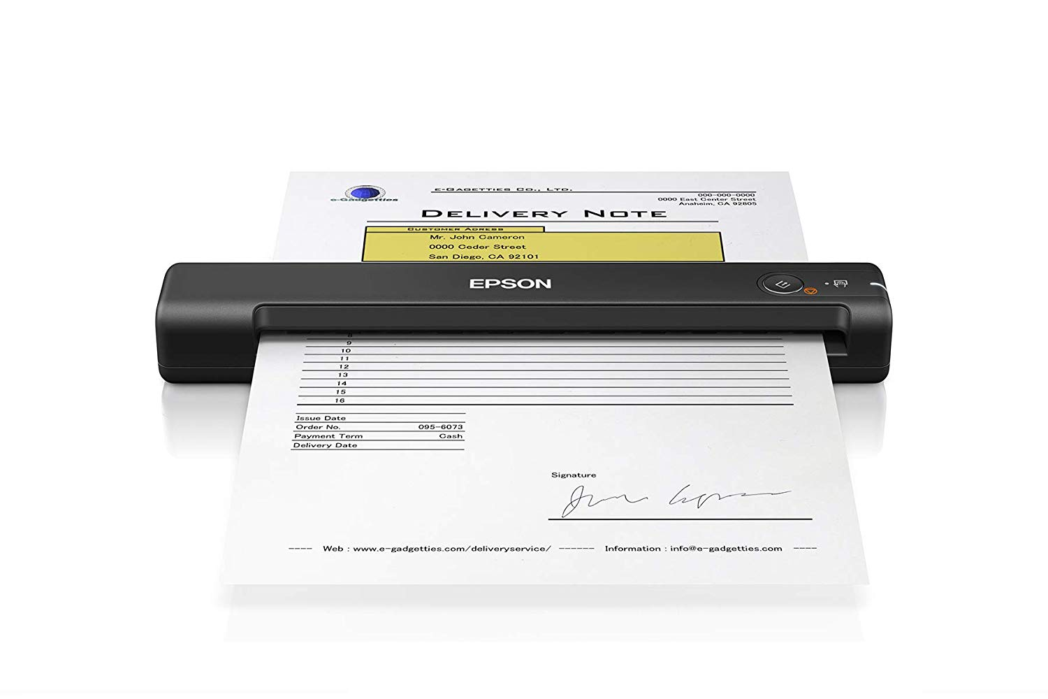Portable Color Document Scanner