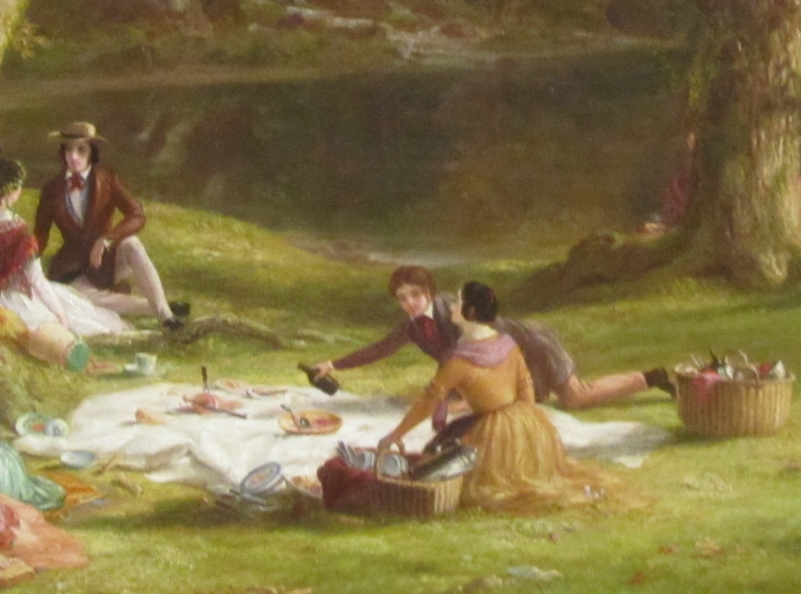 Thomas Cole. A Pic-Nic Party