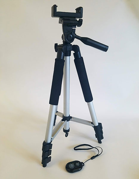 Tripod with Remote
