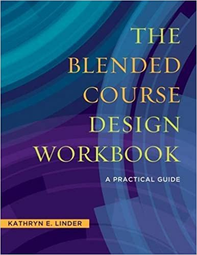 [Book Cover] The Blended Course Design Workbook