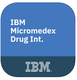IBM Micromedex Drug Interactions icon