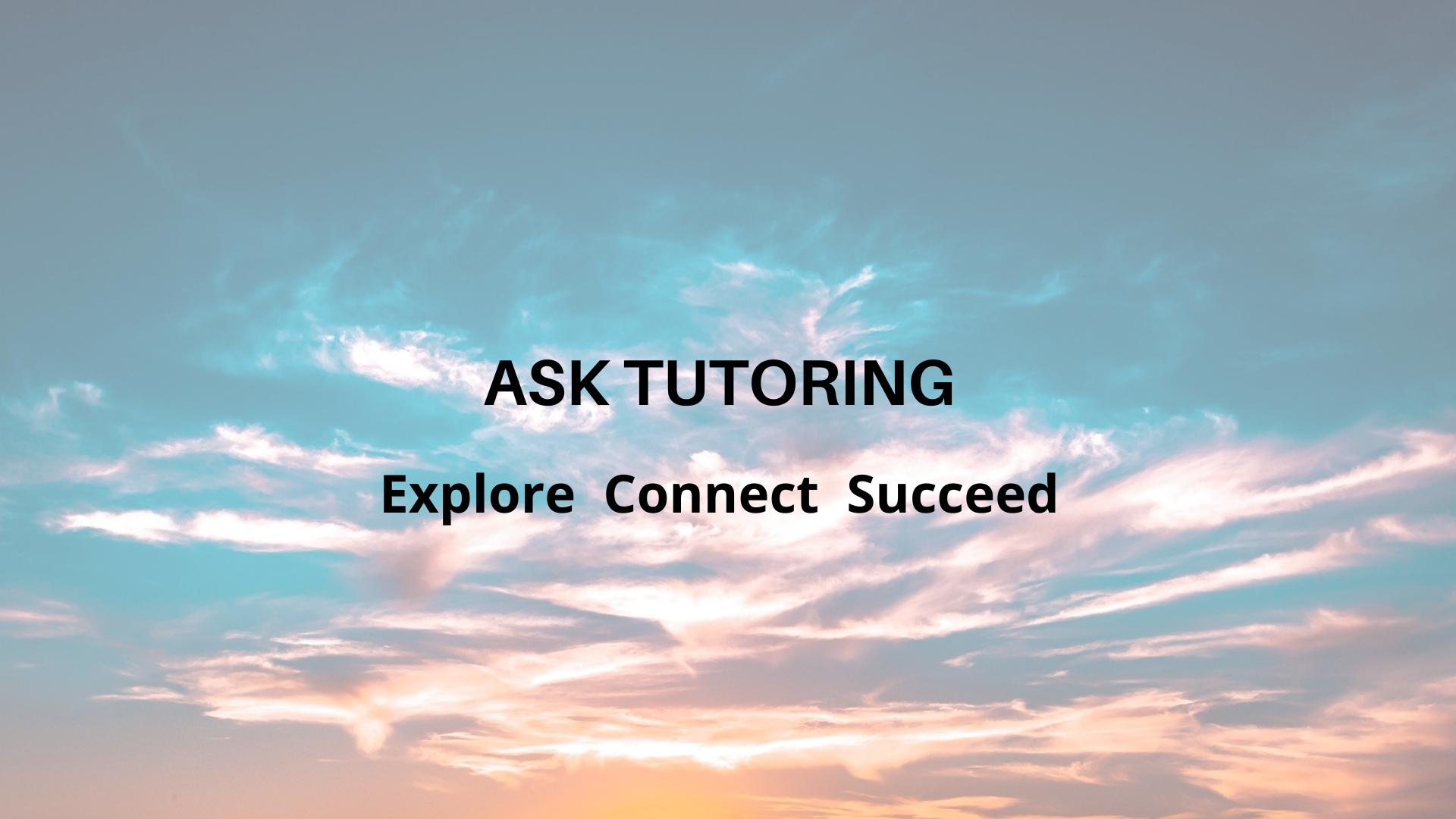 Ask Tutoring logo