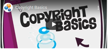 Copyright Basics video launch