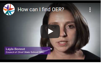 How can I find OER video image