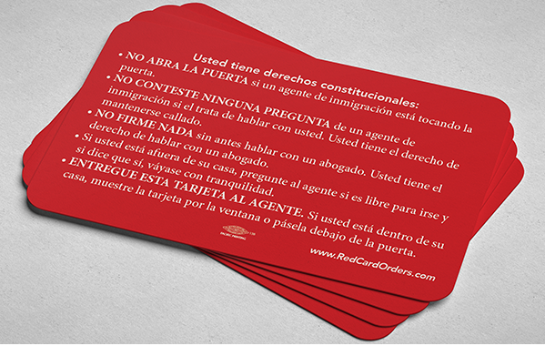 ILRC's red cards