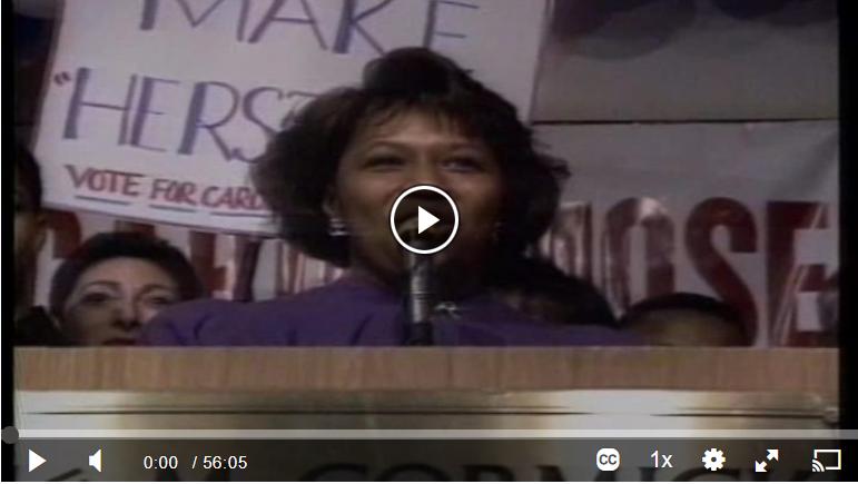 Women in American Politics video launcher