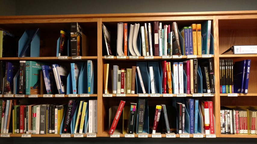 UNH-Manchester Campus Reserve Shelving