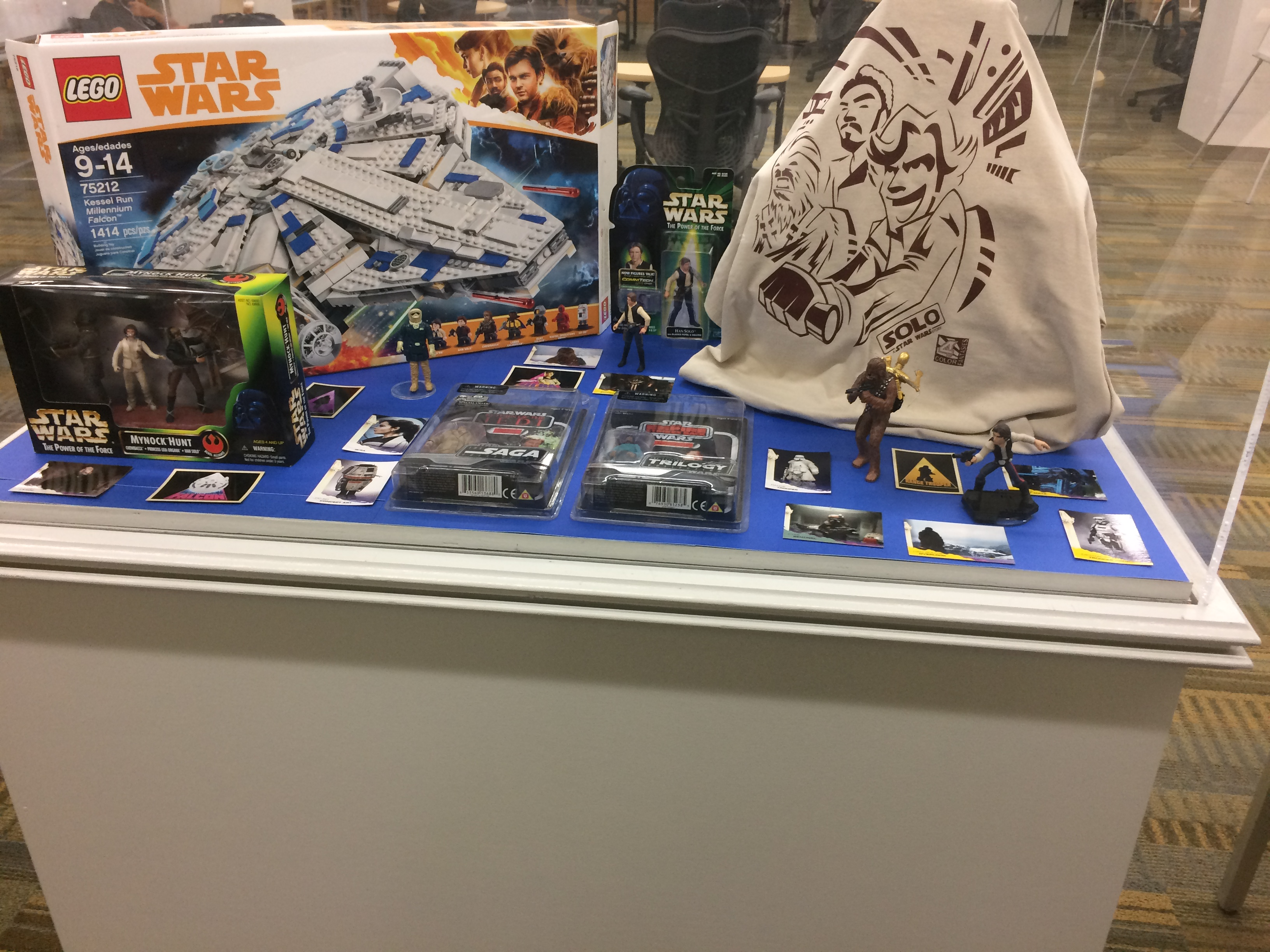 Solo Star Wars Display