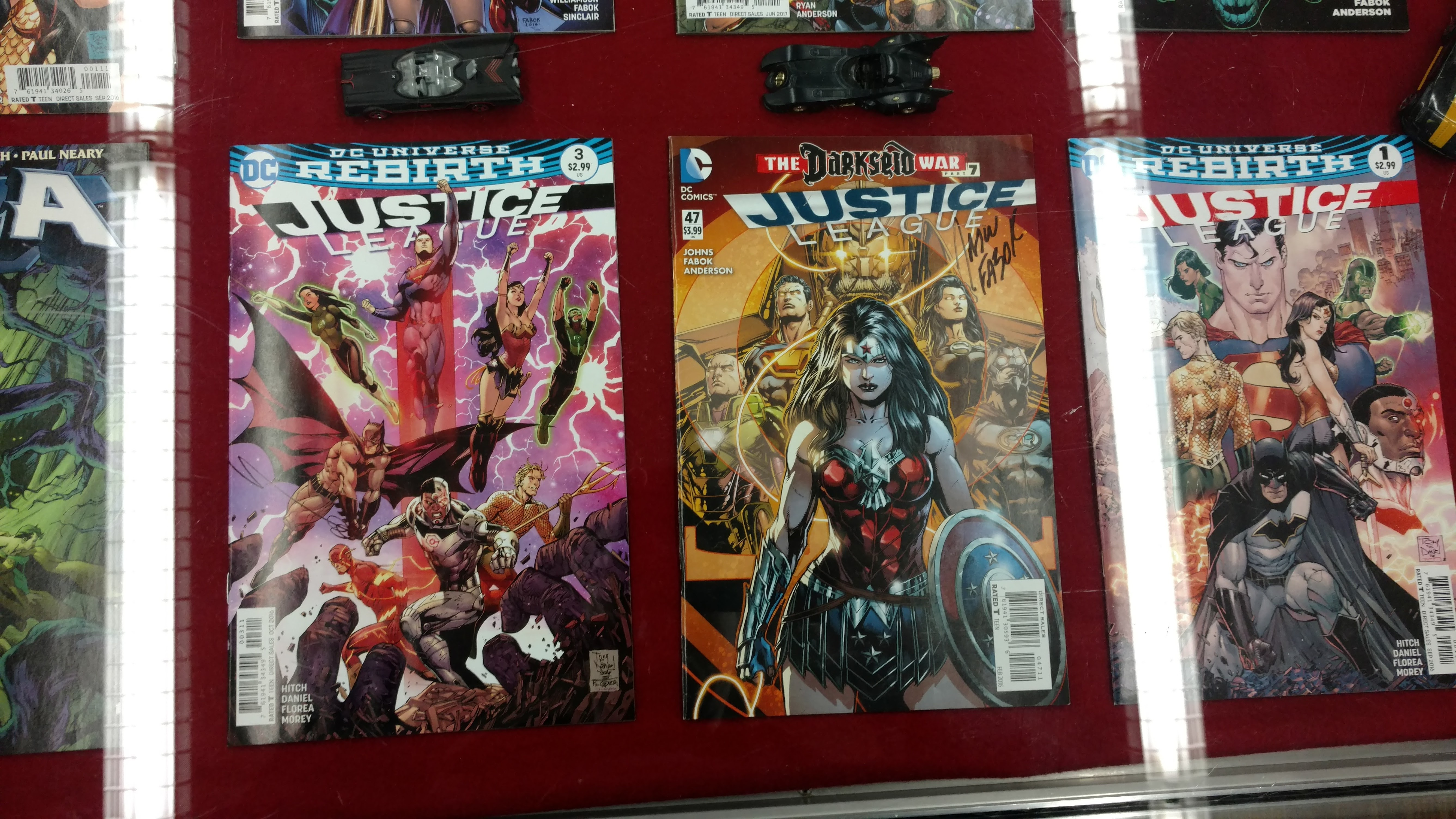Justice League Comics