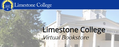 Limestone College Virtual Bookstore link