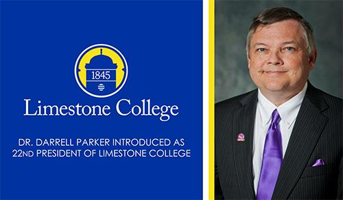 This is an image of Dr. Darrell Parker, President of Limestone College.