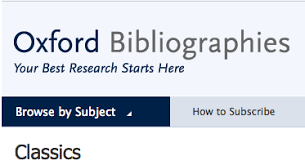 Image of Oxford Bibliographies