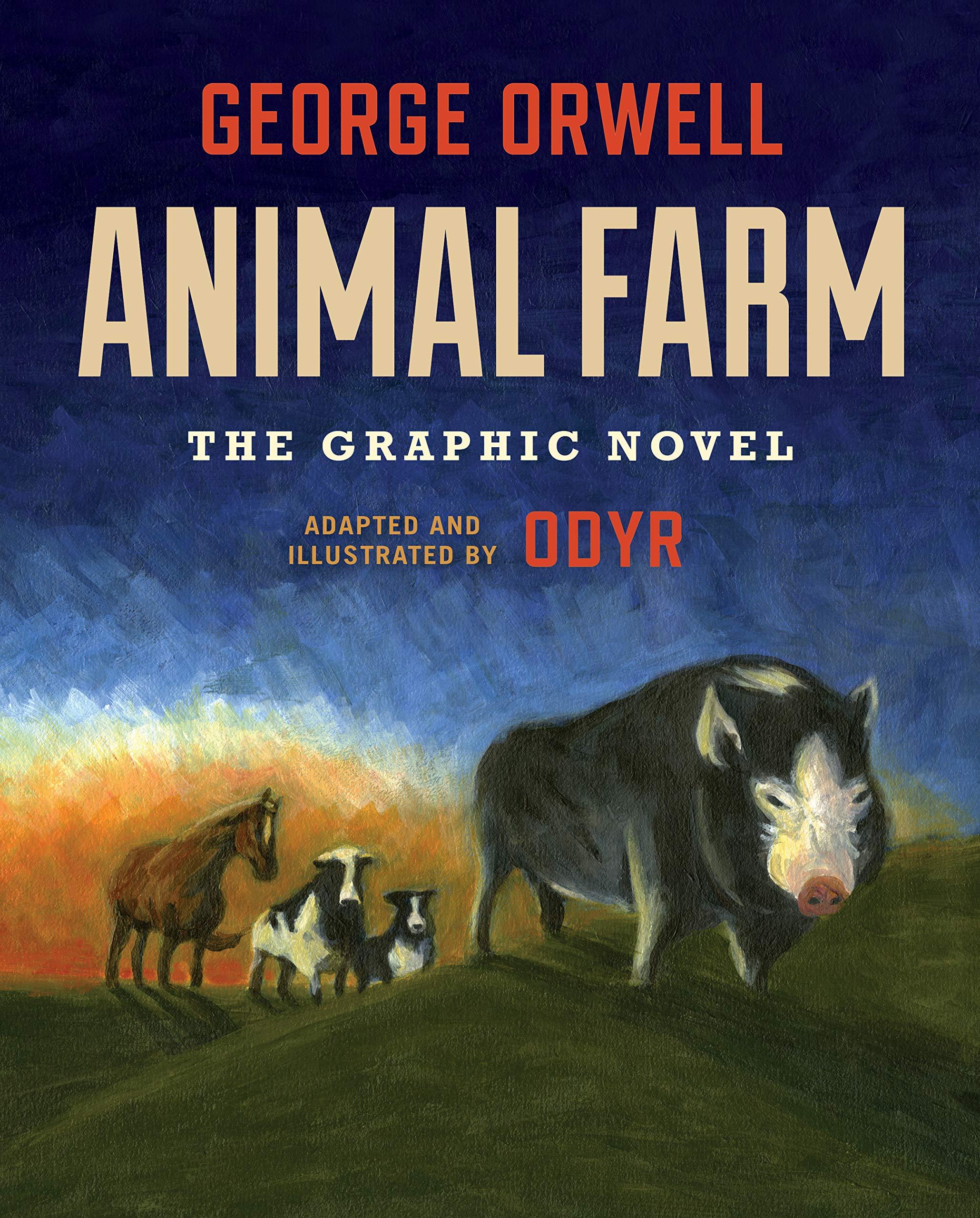 Animal Farm graphic novel cover