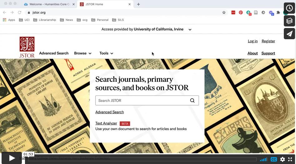 JSTOR video still