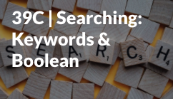 Searching keywords start icon