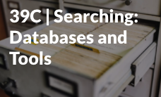 Searching Databases and Tools start icon