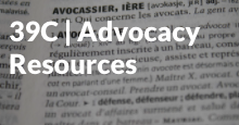 Advocacy Resources tutorial start icon