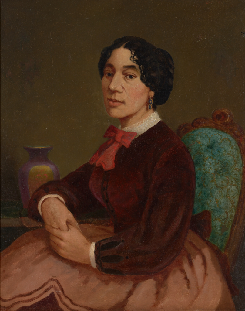 Painting of Chrisitiana Bannister