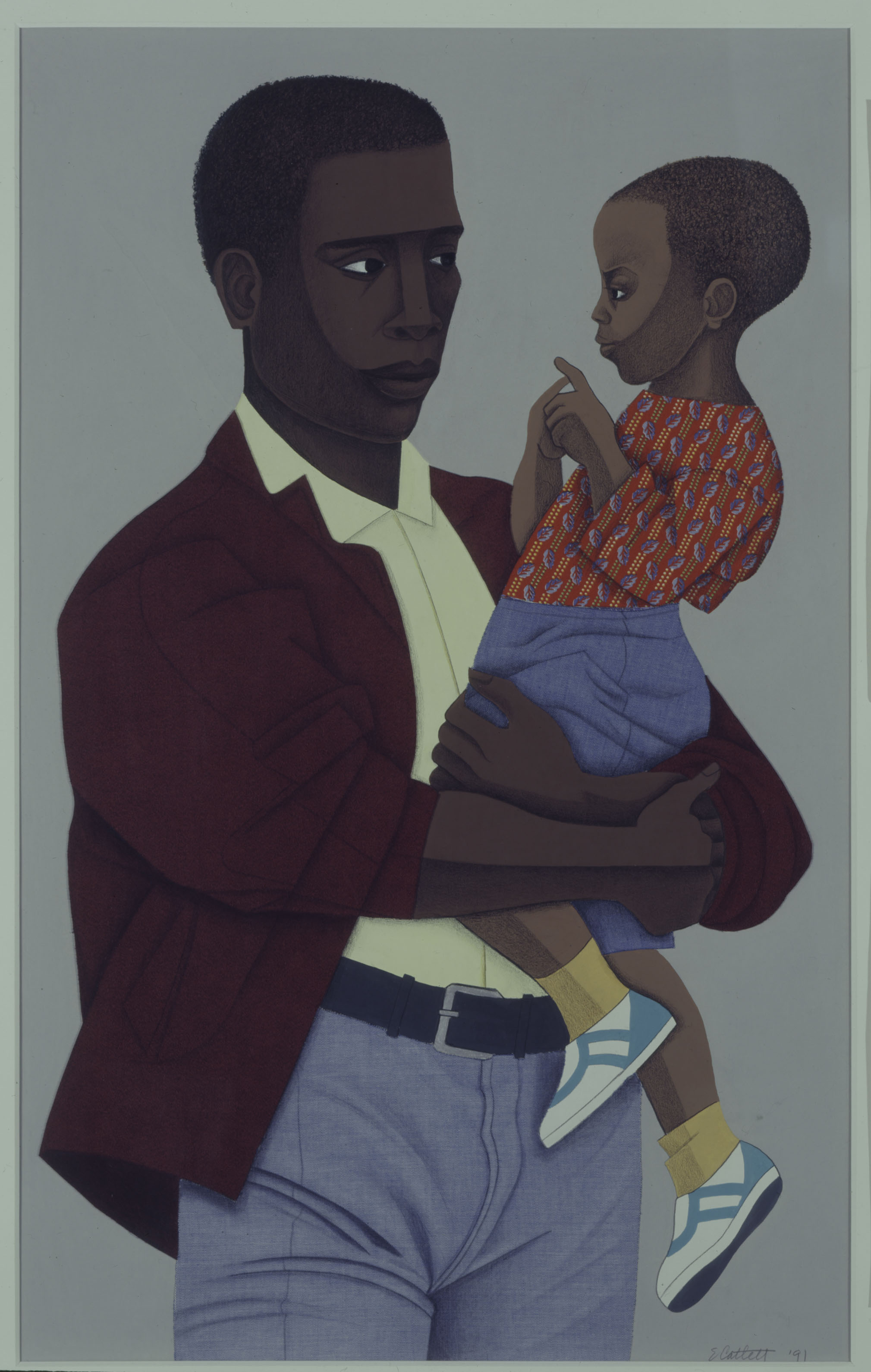 New Generation by Elizabeth Catlett
