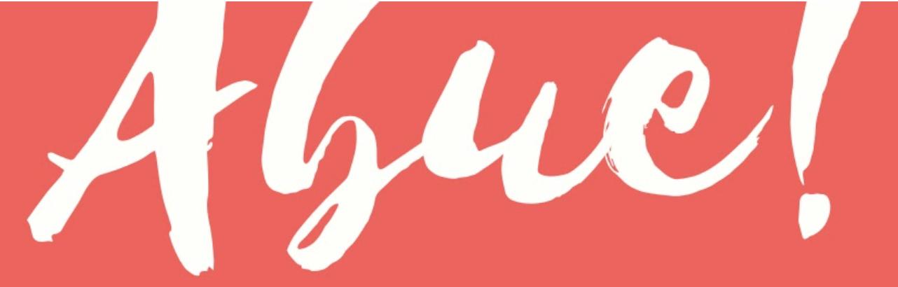 Abue! logo