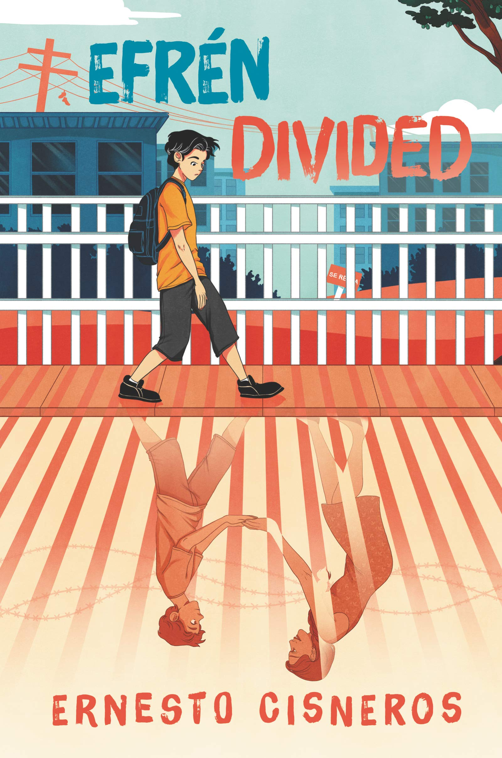 cover of book efren divided