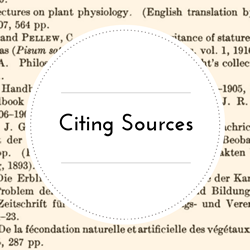 Go to Citing Sources page.