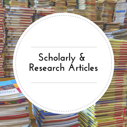 Scholarly and Research Articles.