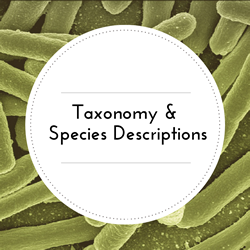 Taxonomy and Species Descriptions.