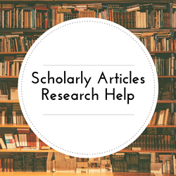 Go to Scholarly Articles and Research Help page.