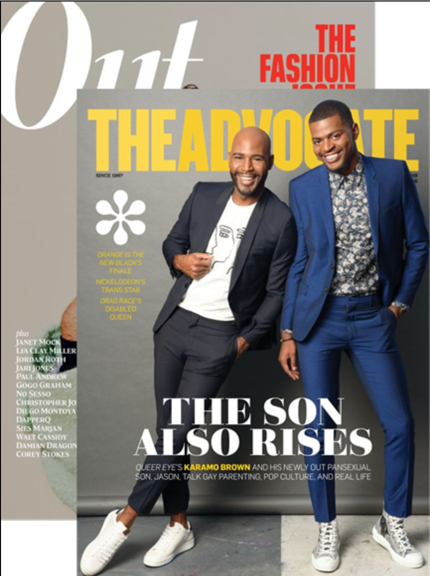 Out & The Advocate Magazine