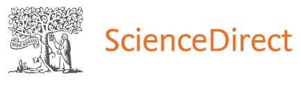 Elsevier's ScienceDirect banner image