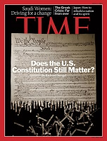 Time magazine cover 7/4/2011