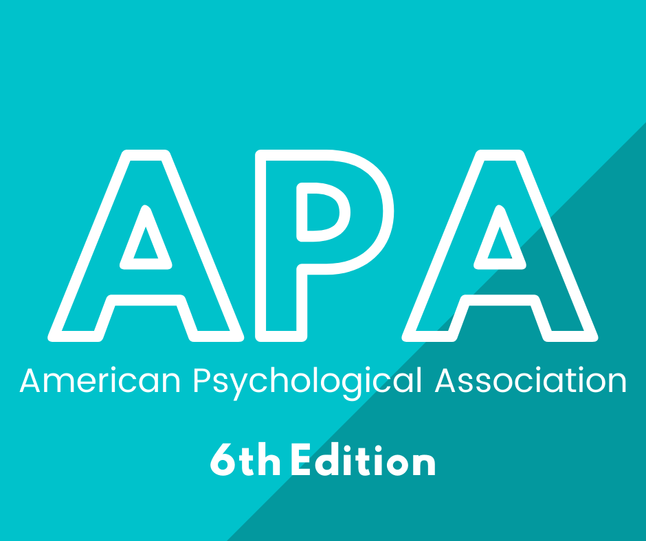 APA 6th edition click here