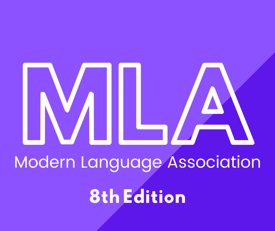 MLA 8th edition click here