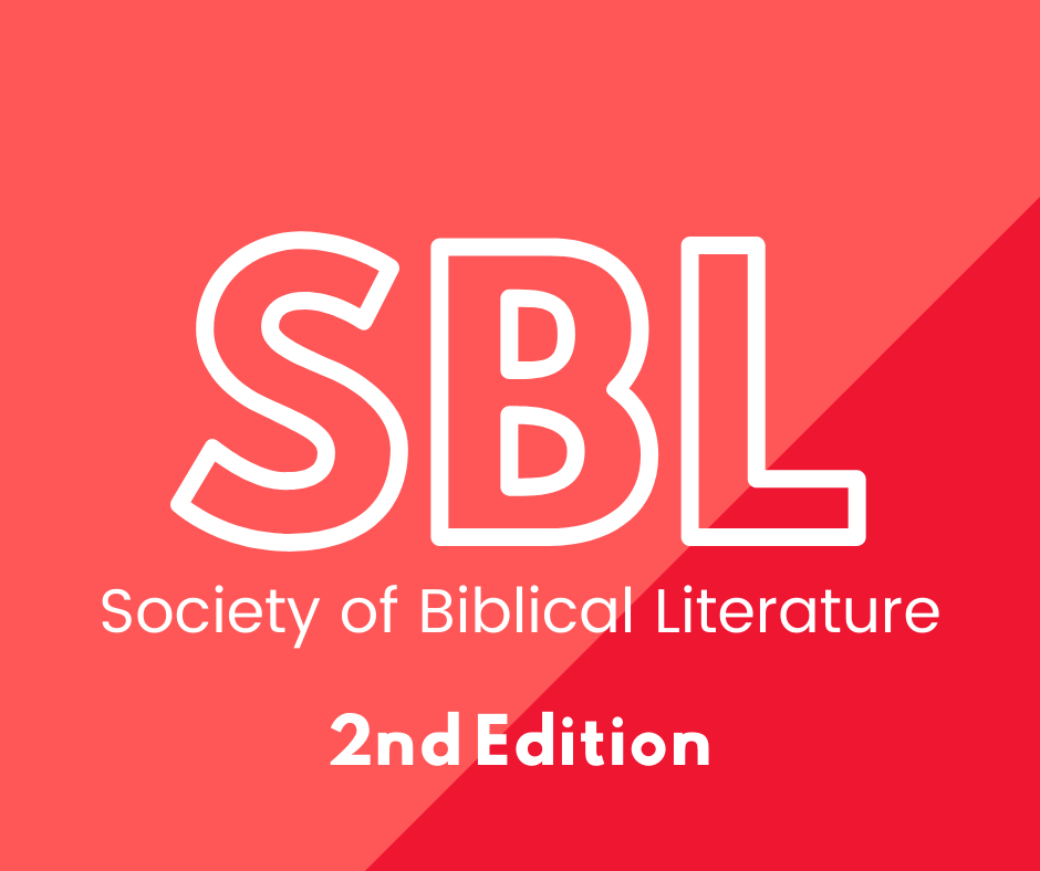 SBL 2nd edition