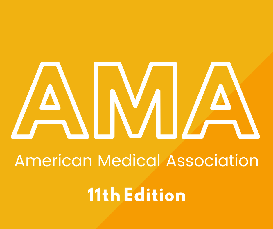 AMA 11th edition click here