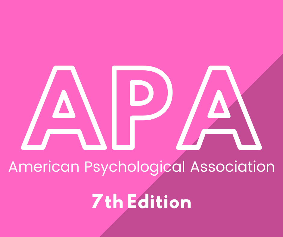 APA 7th edition click here