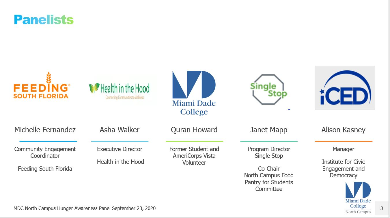 hunger awareness panel photo 2