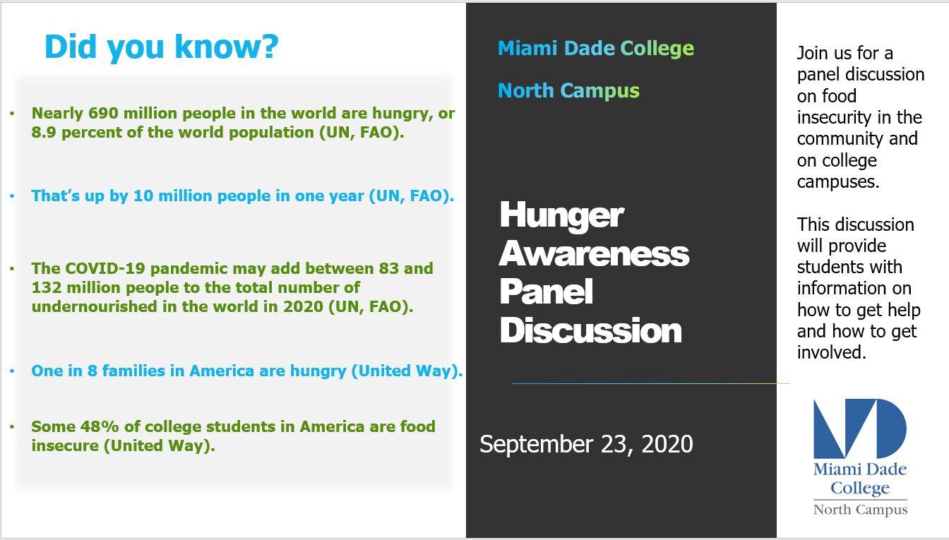 hunger awareness panel photo 1