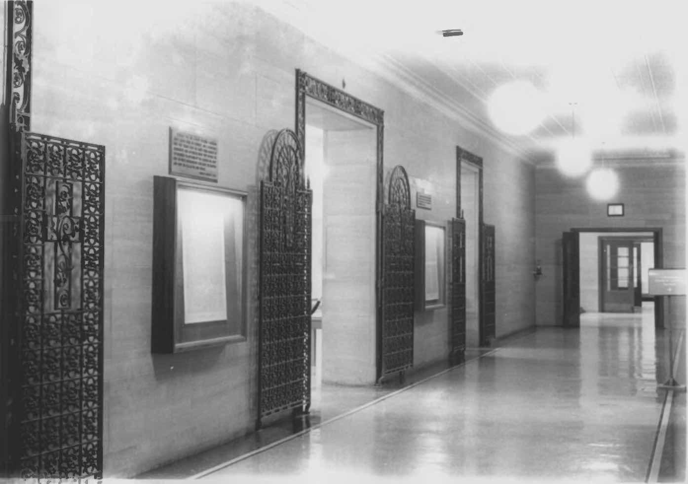 Arnold Bennett Hall Memorial Gates