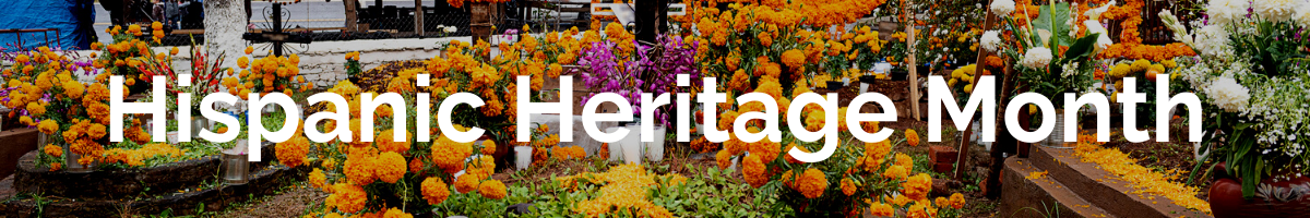 A selection of resources for Hispanic Heritage Month