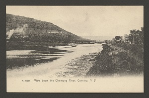Corning - View Down the Chemung River