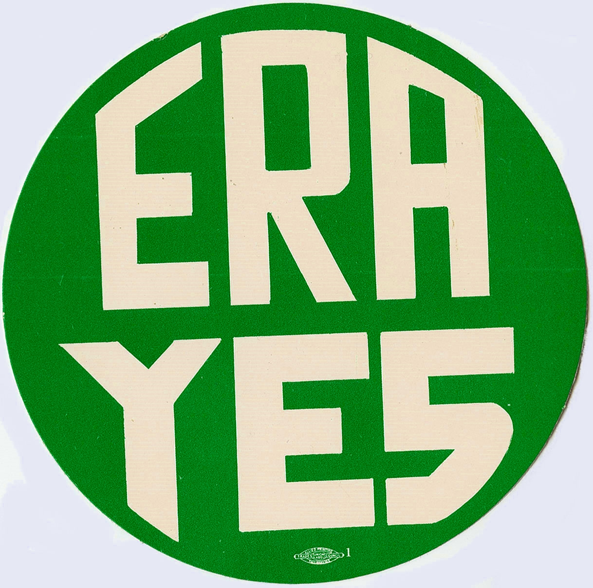 ERA Yes Sticker